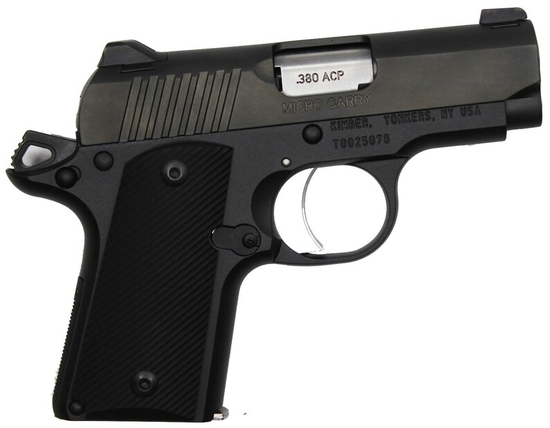 Duragrips - Kimber Micro Carry  380 Tactical Grips -