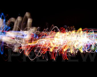 Urban Lights. Abstract Photography