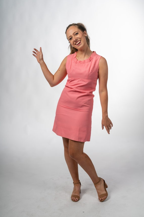 1960s Vintage Pink Gogo Dress