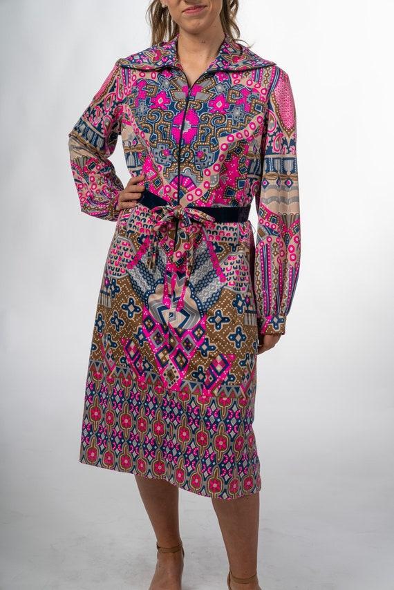 Vintage Bell Sleeve Dress