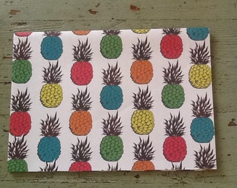 Pineapple Wrapping Paper.  Pineapple Folded Wrapping Paper. Kraft Gift Wrap (68X50cm)