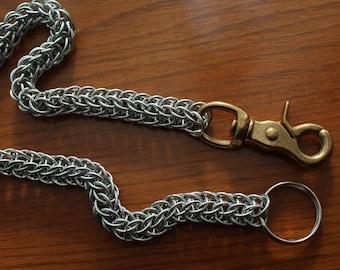 Chainmail Biker Wallet Chain with Heavy Duty Brass Swivels