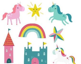 Magical Unicorn Bits and Pieces/ Ephemera