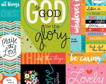 Illustrated Faith Art Prints 3x4 Journaling cards
