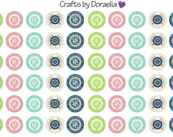 RS Stickers,Relief Society Stickers, LDS Planner stickers,