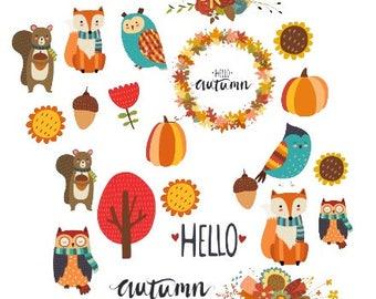 Hello Autumn Ephemera/ Bits and Pieces