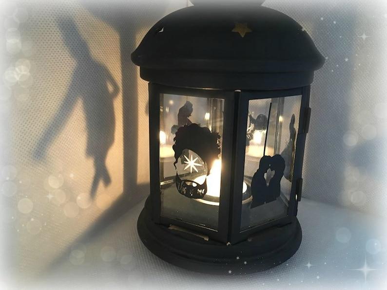 Tea Light Holder Lanterne Argent Intérieur ou extérieur décoration de table ou Cadeau