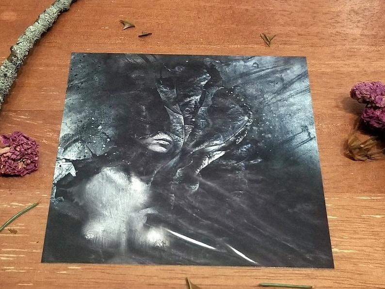 by Agardnas Mini Art Print VILA FREE Shipping Surreal Dark Art Photo Illustration