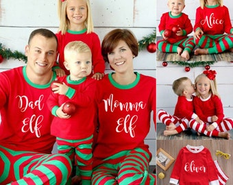 Matching christmas pajamas | Etsy