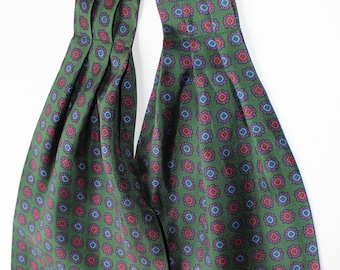 Silk Ascot  vintage made in Italy