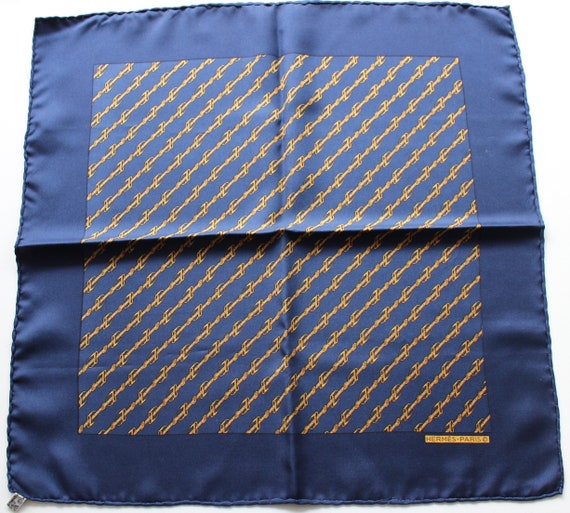 Pouch  Hermès equestrian pattern
