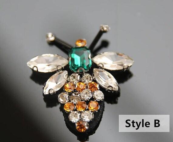 2pcs Biene Strass Perlen Aufnäher für Kleidung Nähen auf   Etsy