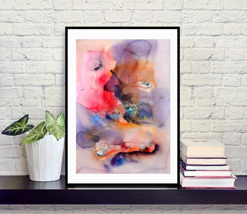 Digital Abstract Art Print Various Sizes 30x40 cm/11.8x15.7 30x40 cm
