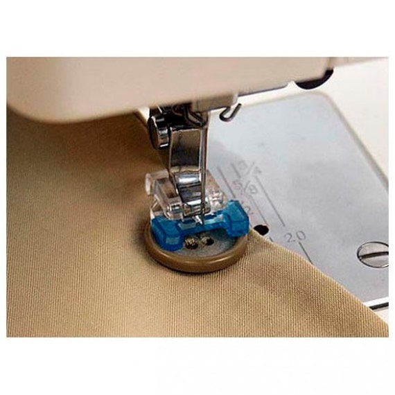 Button Sew On Holding Attaching Holds Presser Foot Attachment Etsy Adorable Huskystar 215 Sewing Machine Reviews