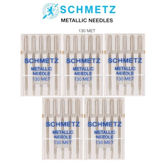 40 Packs Metallic Size 40 Schmetz Brand Sewing Machine Needles Etsy New Sewing Machine Needle Brands