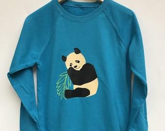 9cc51d95d very chill panda sweatshirt // cute panda pullover