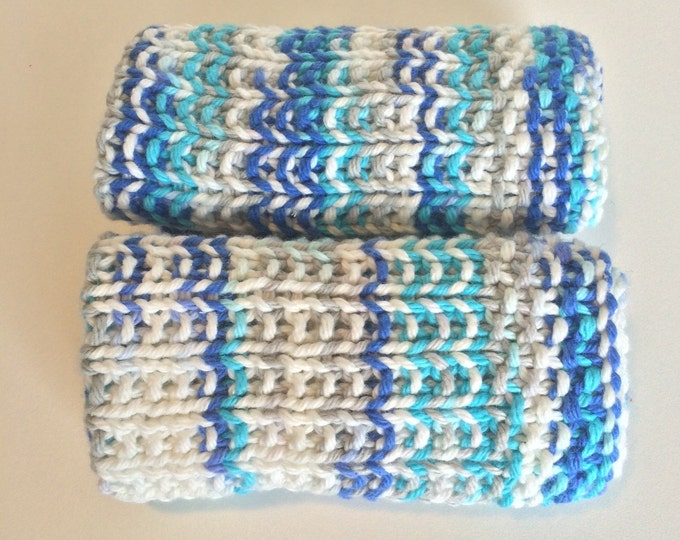 knit dishcloth / boho decor / knitted dishcloth / knit washcloth / cotton dishcloth / cotton washcloth / sale / gifts under 10