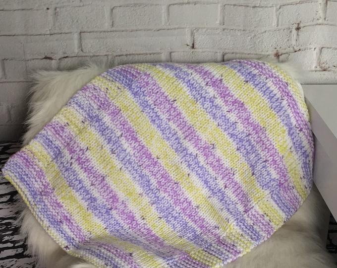 Cat blanket / ready to ship / gift for cat / cat bed / cat gift / handmade cat gift / knitted blanket / new pet gift / dog blanket / boho