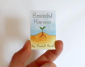 Bountiful Harvest Mini-Comic Zine