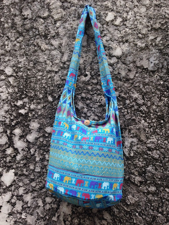cee59c4773a3 Crossbody Shoulder Bags Boho Sling Hippies Ikat Aztec Tribal
