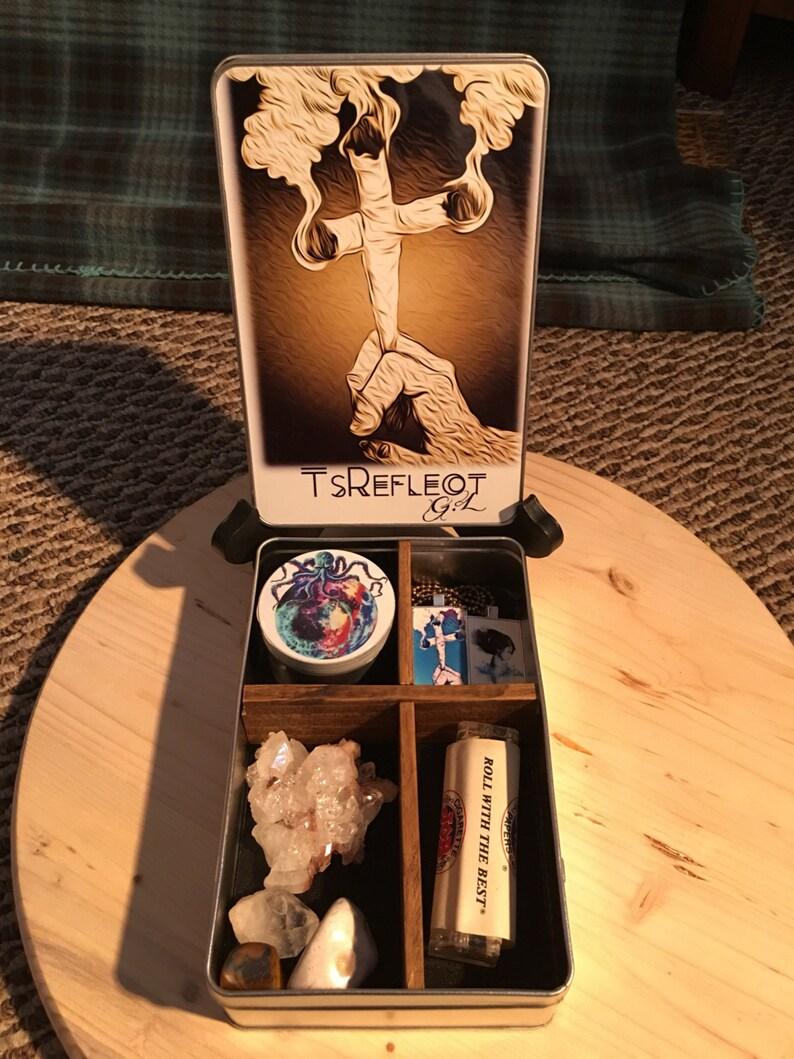 Future of smoking sepia fade jewelry and stash box