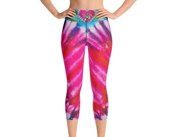 My MaryJane Mojo Yoga Capri Leggings by Twisted420Glass