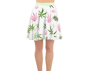 Bring May Flowers Spring Skater Skirt by Twisted420Glass & Crystal Indica