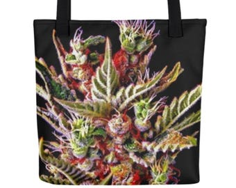 Weed Bag - Cannabis Tote Bag - Music Festival Tote Bag - Weed Beach Bag - Weed Accessories, Cannabis Gifts for Her - Women of Weed Tote Bag