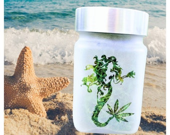 Wild Mermaid Stash Jar