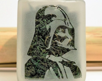 Darth Vader Stash Jar - Star Wars 420 Weed Accessories - Stash Jars, Weed Jars, Stoner Accessories - Weed Gifts, Star Wars Gifts