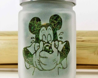 Stoned Mouse Stash Jar - Weed Accessories, Stoner Gifts, 420 Stash Jars for Weed - Stoner Accessories, Weed Jars - Weed Gifts