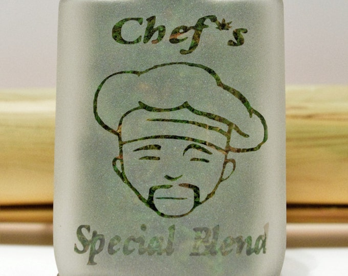 Stash Jar Stoner Chef Special Blend - Cannabis Edibles Jar, Weed Accessories, Stoner Gifts - Stoner Accessories - Weed Kitchen Accessories