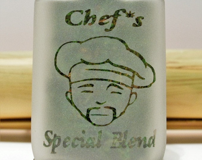 Weed Stash Jar, Chef Special Blend - Edibles Jar, Weed Gift Ideas for Cannabis Cooks, Weed Kitchen Accessories -