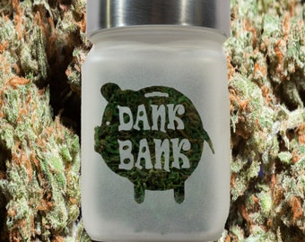 Dank Bank Stash Jar