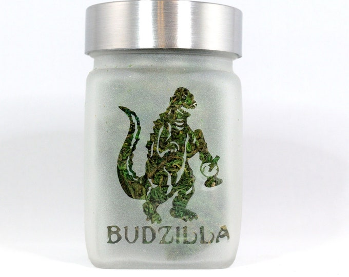 Budzilla Stash Jar