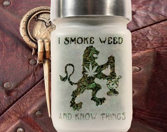 Game of Thrones Stash Jar - I Smoke Weed