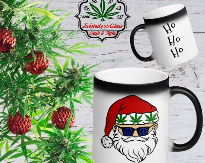 Stoned Santa's Holiday Magic Coffee Mug