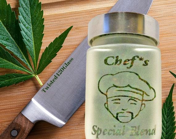 Chef's Special Blend Stash Jar