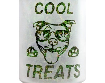Dog Treat Jar and CBD Cookie Canister