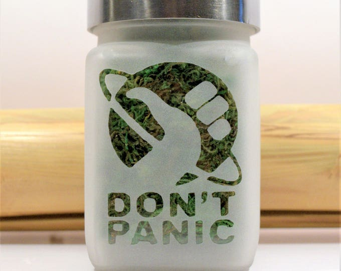 Thumbs Up Universe Don't Panic Stash Jar