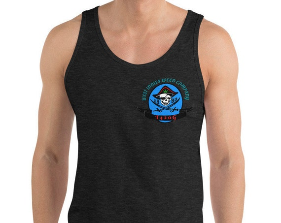 West Indies Weed Company Pirate Crest Tank Top