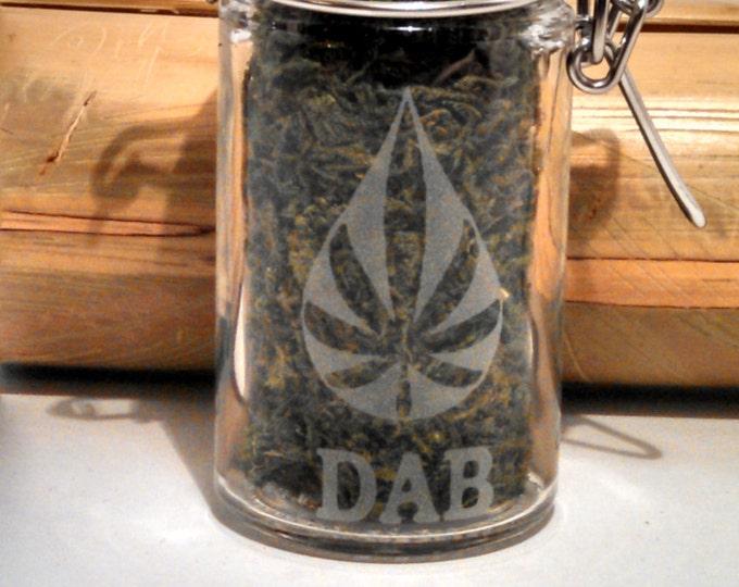 Weed, Dab & Stash Jar - 420 Gifts - Weed Accessories, Stash Jars - Cannabis Storage - Weed Gifts - Stoner Gear