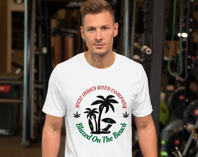 Blazed On The Beach Short-Sleeve T-Shirt