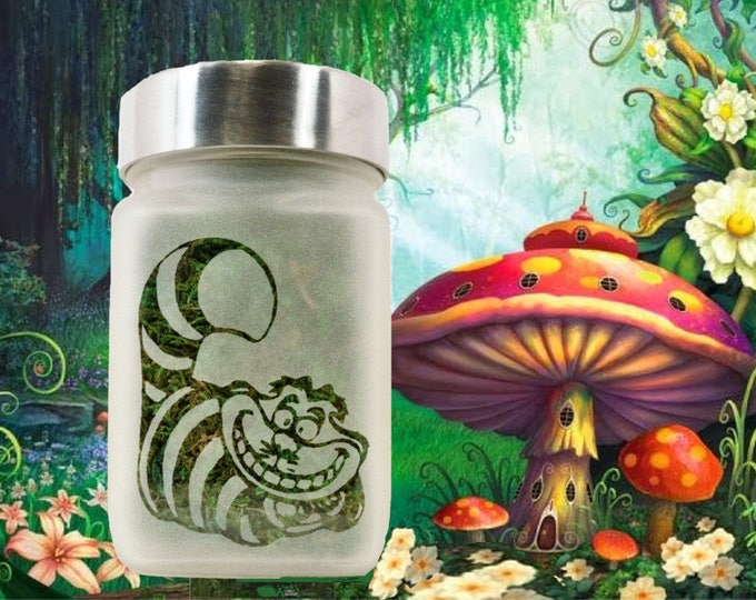 Cheshire Cat Stash Jar