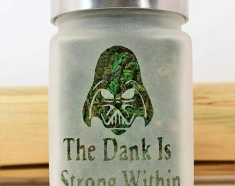 Star Wars Stash Jar - The Dank is Strong Within