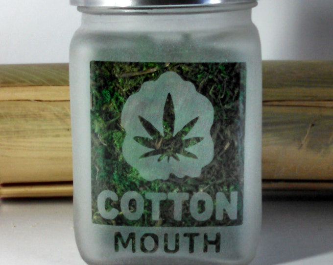Cotton Mouth Stash Jars - Weed Accessories, Stash Jars, Cannabis Gifts -  Stoner Accessories, Stoner Gifts - Cannabis Gift and Weed Jars