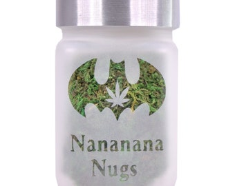 Retro Nocturnal Nananana Nugs Stash Jar - Nananana Nugs