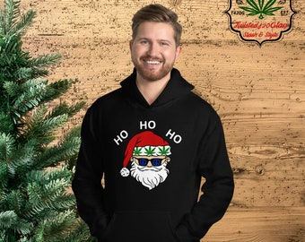 Stoned Santa's Hooded Sweatshirt
