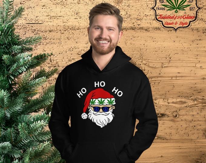Stoned Santa's Hooded Sweatshirt