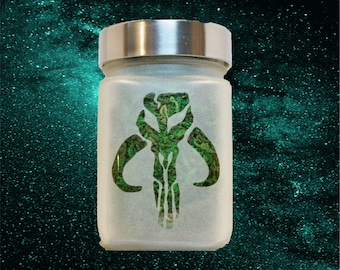 Boba Fett Star Wars Stash Jar